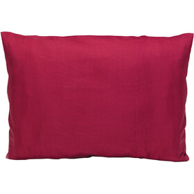 Cocoon Pillow Case large, silk/cotton, monk's red